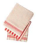 Stack of colorful dish towels Stock Image