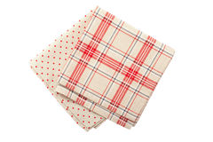 Stack of colorful dish towels Stock Photography