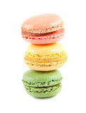 Stack of colorful macaroons Stock Photos
