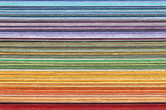 Stack of colorful paper Royalty Free Stock Images