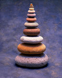 Stack of Colorful Stones Stock Photos