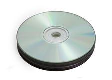 Stack of compact discs Stock Photos