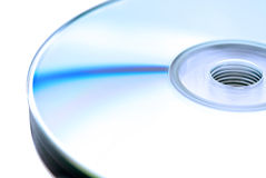 A stack of compact disks Royalty Free Stock Image