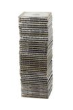 Stack of computer disks Stock Images