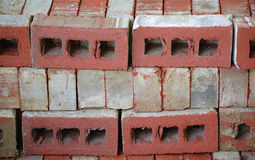 Stack of Construction Bricks Royalty Free Stock Photos