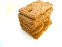 Stack of cookies Stock Images