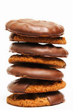 Stack of Cookies Royalty Free Stock Photos