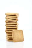 Stack of cookies close up Stock Images