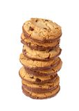 Stack of cookies Royalty Free Stock Images