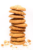 Stack of cookies with sesame Stock Photos