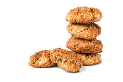 A stack of cookies Royalty Free Stock Images