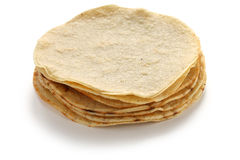 a stack of corn tortillas Royalty Free Stock Image