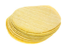 Stack of corn tortillas Stock Photography