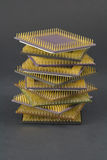 Stack of CPU Royalty Free Stock Image