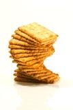 Stack of cracker Stock Photo