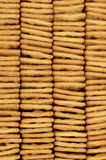 Stack of Cracker Biscuits Royalty Free Stock Photo