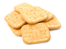 Stack of crackers Stock Photography