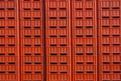 Blueberry Crates Stock Photos