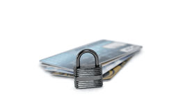 Protected Credit Cards Stock Photography