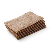 Stack of crispbread Stock Photos
