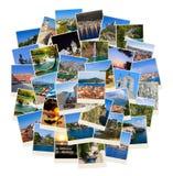Stack of Croatia travel photos Royalty Free Stock Photo