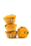 Stack of cup cake Royalty Free Stock Images