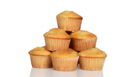 Stack of cupcakes Stock Photo