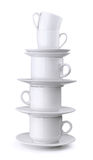 Stack of cups Stock Image
