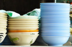 Stack of  cups Stock Images
