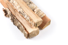 Stack of cut logs firewood Royalty Free Stock Images