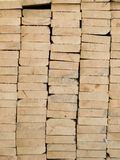 Stack of cut timber Stock Photography