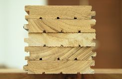 Wood material for construction Royalty Free Stock Photo