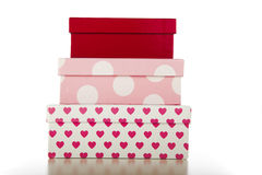 Stack of Decorative Boxes Stock Photography