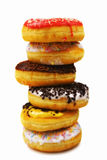Stack of delicious donuts Royalty Free Stock Image
