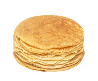 Stack of delicious pancakes Stock Photos