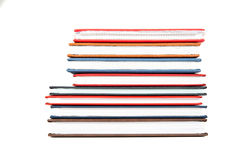 Stack of diaries Royalty Free Stock Image