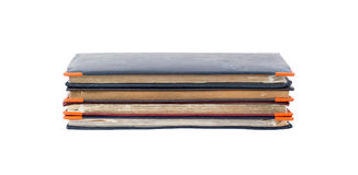 Stack of diaries Stock Photography