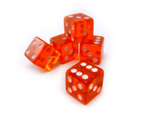 A stack of dice Royalty Free Stock Photos