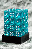 Stack of dices stock image