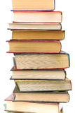 Stack of different books closeup Stock Photography