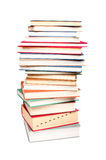 Stack of different books Royalty Free Stock Photo