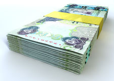 Stack Dirham Bank Notes Royalty Free Stock Images