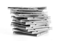 Stack of disk Stock Photos