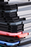 Stack of diskettes. Isolate on white background Royalty Free Stock Image