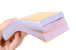 Stack of documents Stock Photography