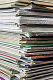 Stack of documents. Background possible to use for printing and project Royalty Free Stock Photo