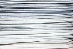 Stack of documents or files, overload of paperwork. Heap, stack of documents or files, overload of paperwork on black background Royalty Free Stock Photography
