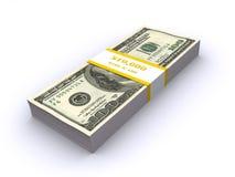 Stack of dollar bills Stock Photography