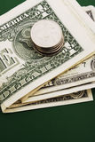 Stack of Dollar Bills Royalty Free Stock Photo
