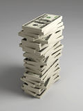 Stack of Dollar Bills Stock Photos